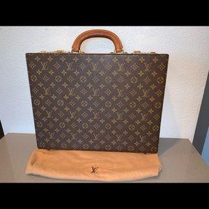 Authentic Louis Vuitton hard president briefcase